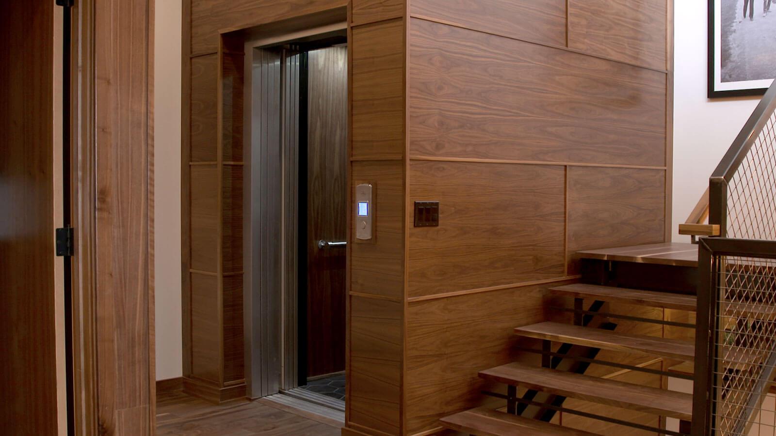 thiết kế thang máy gia đình